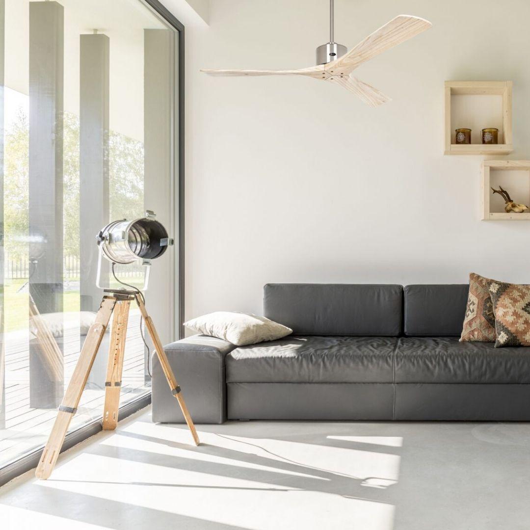 ventilateur plafond bois macau