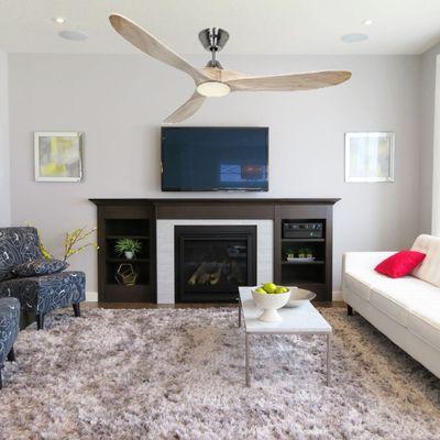 ventilateur plafond avec lumiere genuino casafan
