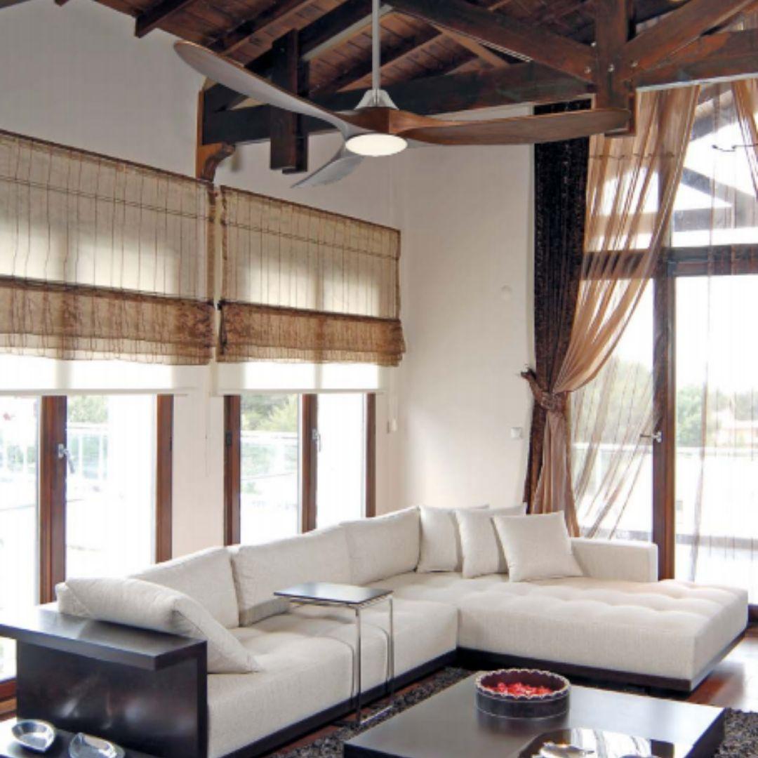 ventilateur de plafond avec lumiere genuino