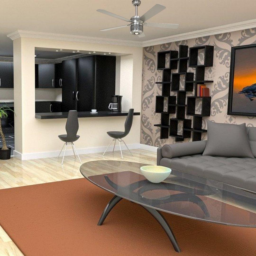ventilateur de plafond standard alu casafan