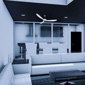 ventilateur de plafond casafan eco genuino blanc