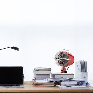 ventilateur de table retrojet rouge casafan