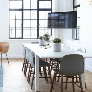 ventilateur à poser sur table retrojet argent casafan