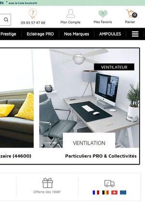 ventilateurs casafan sur boutica design